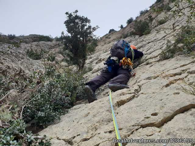 Guided climbing tours to Montserrat