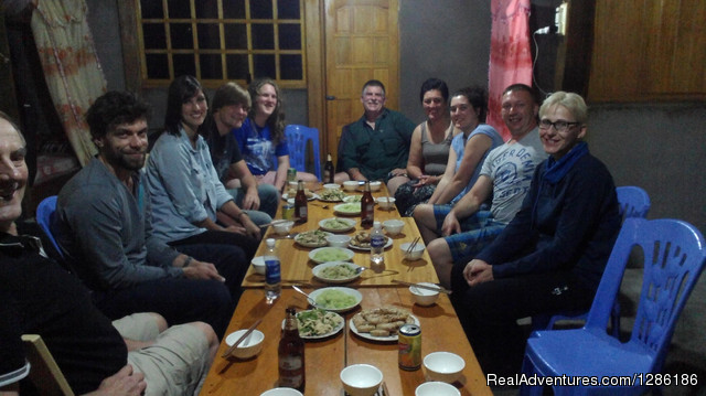 Dinner at Local peole - Sapa Tripadvisor Tours