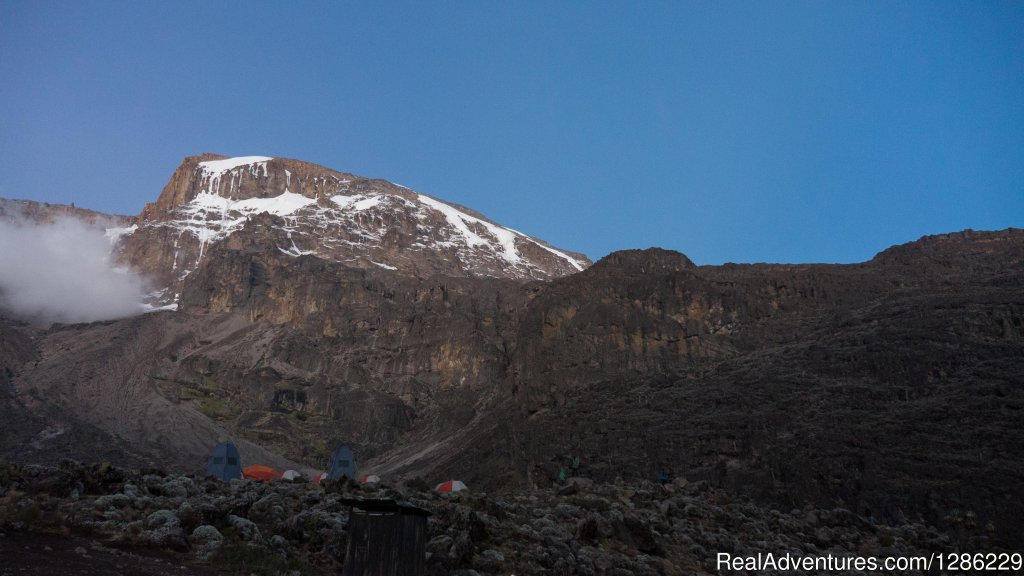 Base On The Kilimanjaro Where We Camping Before Summit | Image #3/9 | Mountain kilmanjaro lemosho Route 10 Days