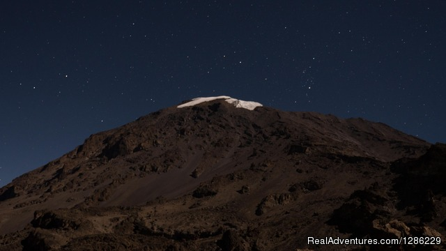 Kilimanjaro Snow Cap - Mountain kilmanjaro lemosho Route 10 Days
