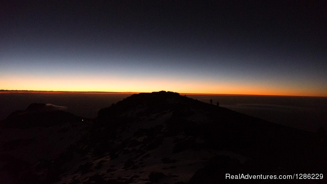 Sun Rise - Mountain kilmanjaro lemosho Route 10 Days