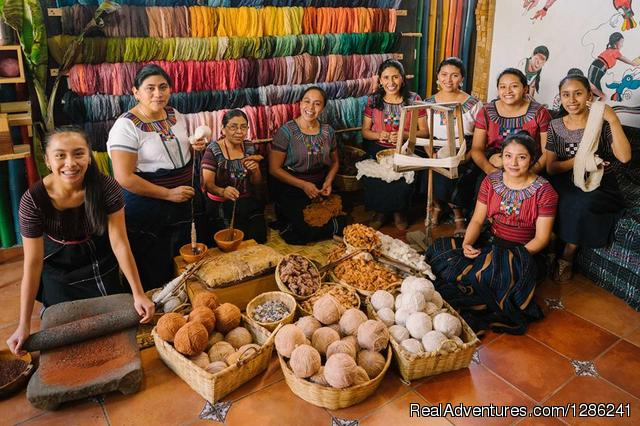 Lake Atitlan Casa Flor Ixcaco Women Weavers Guatemala - Ethical Fashion Guatemala Textiles Workshop