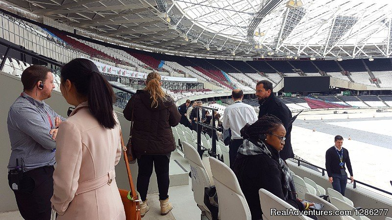 London Football Stadium Taxi Tour | Image #8/14 | Visit London Taxi Tours