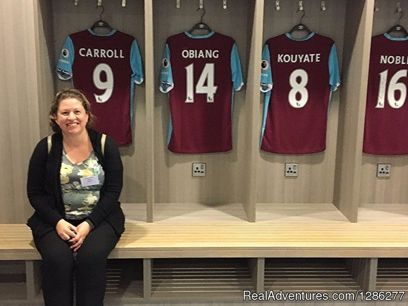 West Ham Changing Rooms | Image #9/14 | Visit London Taxi Tours
