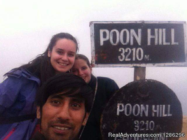 Volunteers from AIESEC Nepal to PoonHill | Image #2/3 | Poon Hill Trek at Pokhara, Nepal