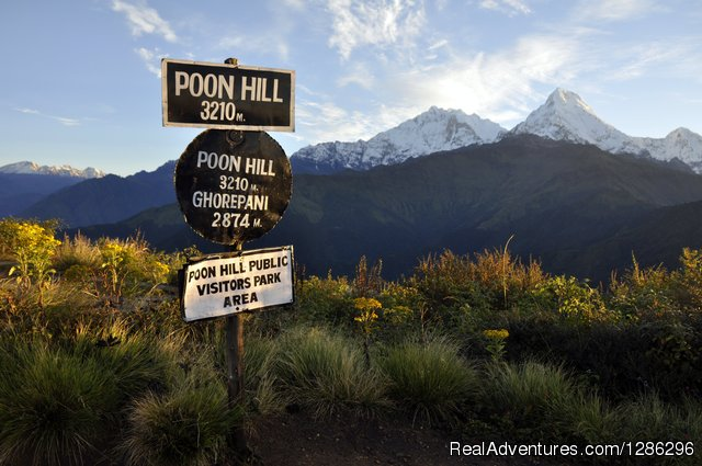 Poon Hill Trek at Pokhara, Nepal