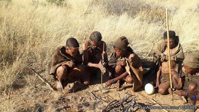 San/Bushmen/Kalahari Wild Experience