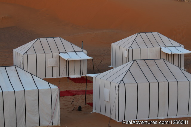 Luxury Desert Camp - Morocco itineraries