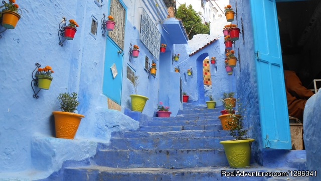Morocco itineraries: Chefchaouen or the blue city