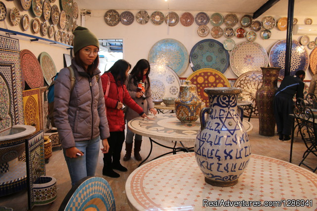ceramics of Morocco - Morocco itineraries