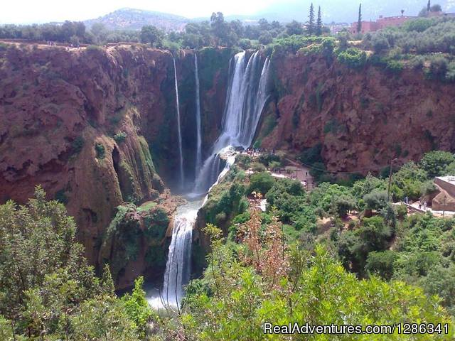 Ozoud falls Morocco - Morocco itineraries