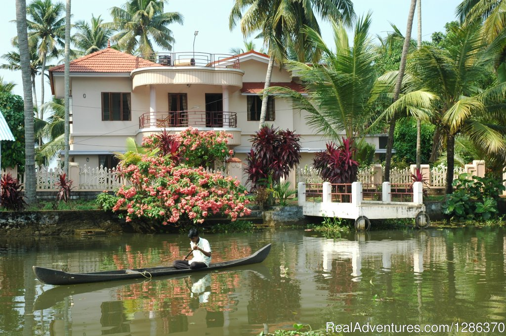 Chennamkary :- A traditional village in the Kuttanad Backwater region Alleppey. In our Home-stays the hosts and the guests are staying under the same roof. We provide separate bath attached rooms for guests.& traditional homely food
