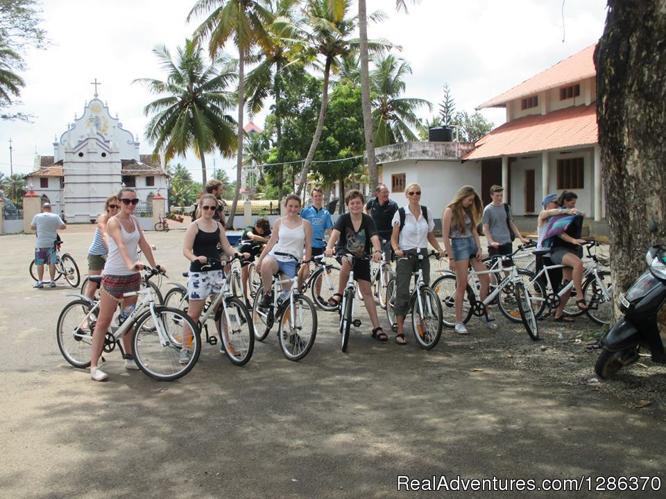 Village Bicycling Trip | Image #5/11 | Explore The Real Kerala Family Experience
