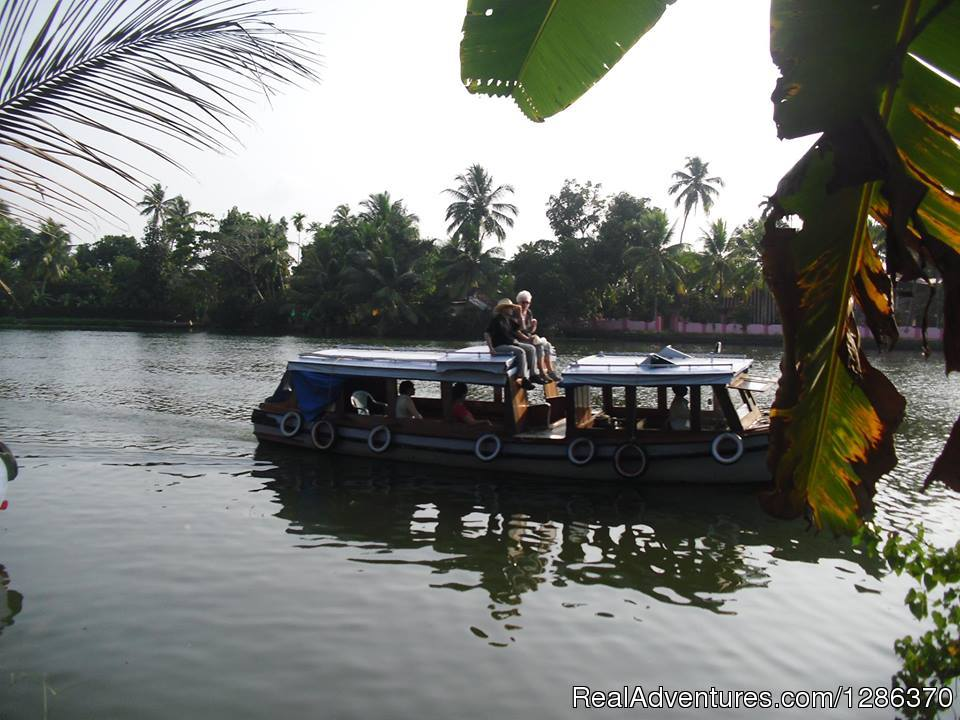 Backwater Cruise in Small Motor Boat