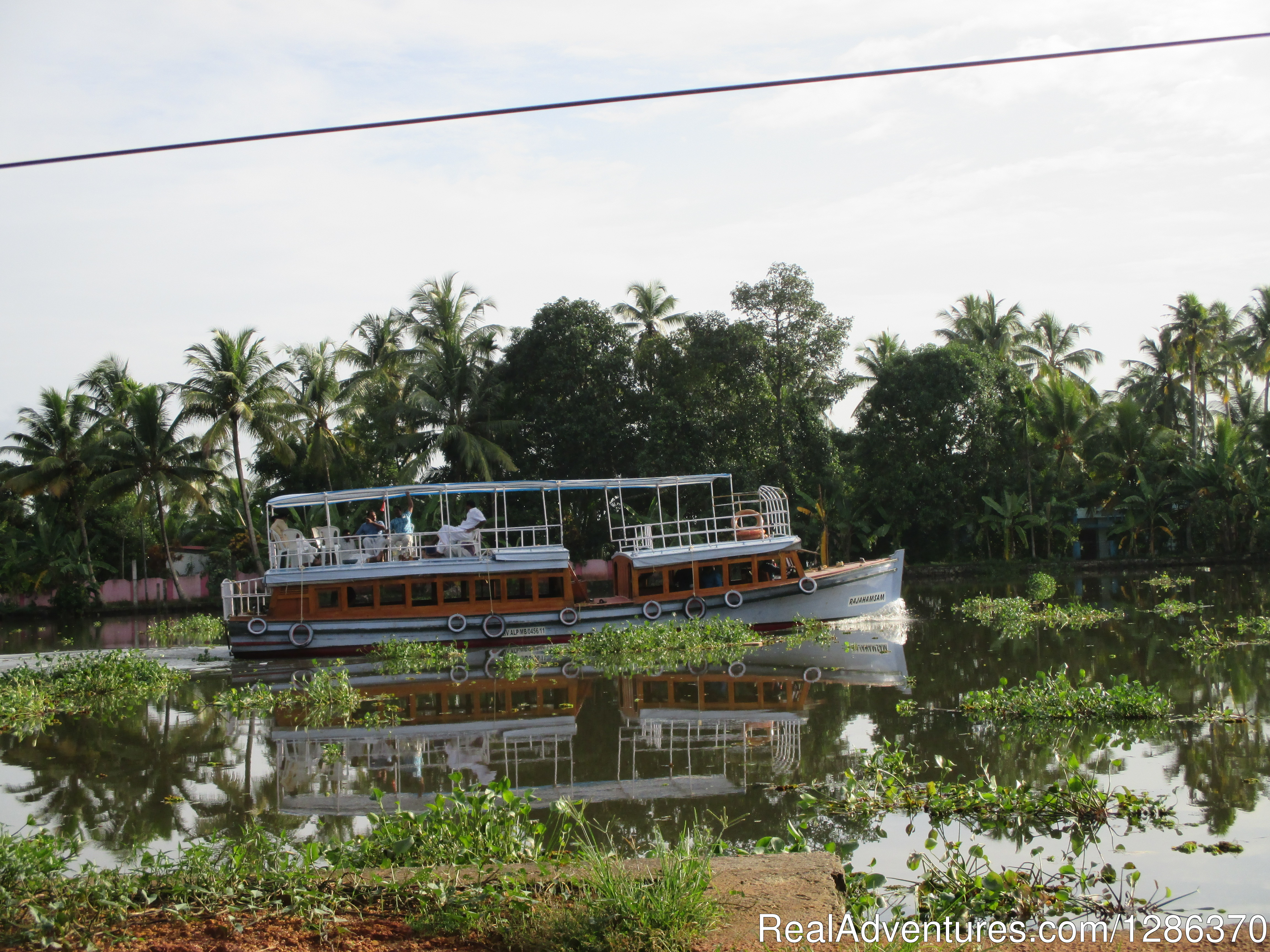 Backwater Cruise in Medium Motor Boat
