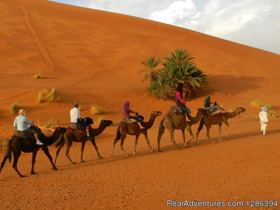 Camel Tours is a local berber tour operator specialist in private Morocco customized tours, desert trips from Marrakech and Fes and camel trekking, Camel Tours team is composed of professional, knowledgeable and experienced drivers/guides