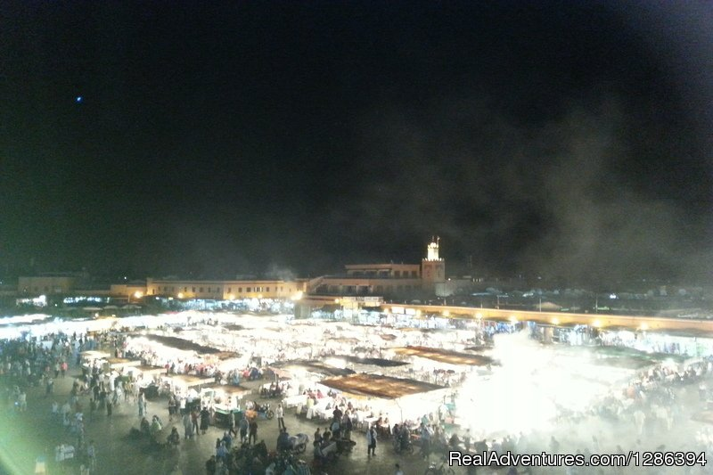 Marrakech by night | Image #7/26 | Camel Tours Morocco