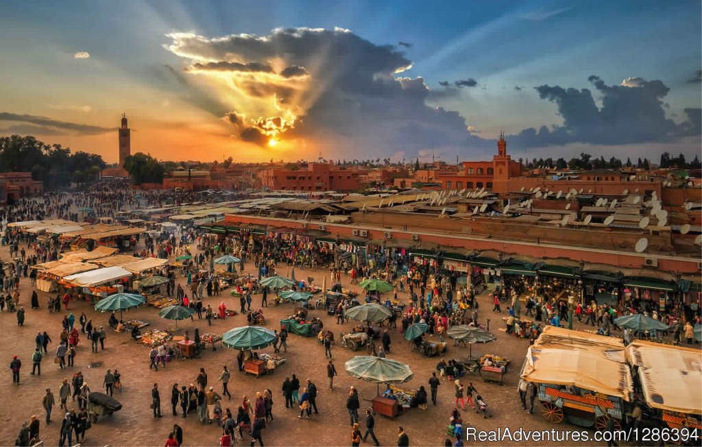 Marrakech sunset | Image #21/26 | Camel Tours Morocco