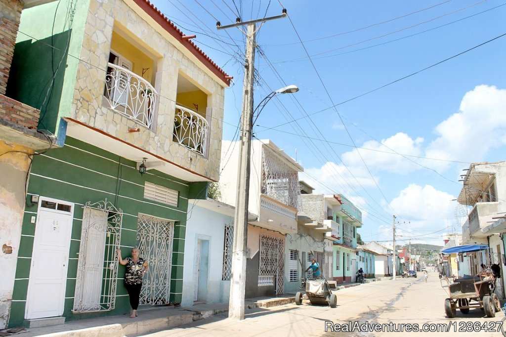 Hostal Sibello, independient house for rent in Tri Trinidad, Cuba Bed & Breakfasts