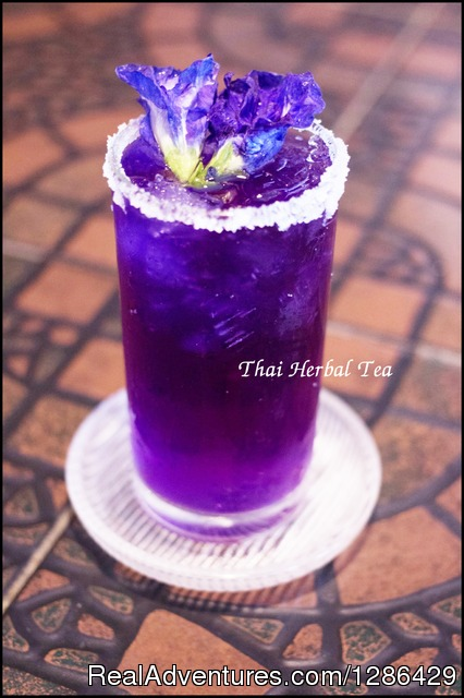 Welcome drink,PennThai Thai cooking class in Phitsanulok