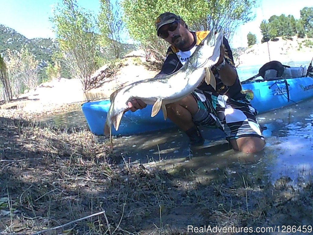 Pike For Kayak | Image #2/9 | fishing guides Ebro river Spain