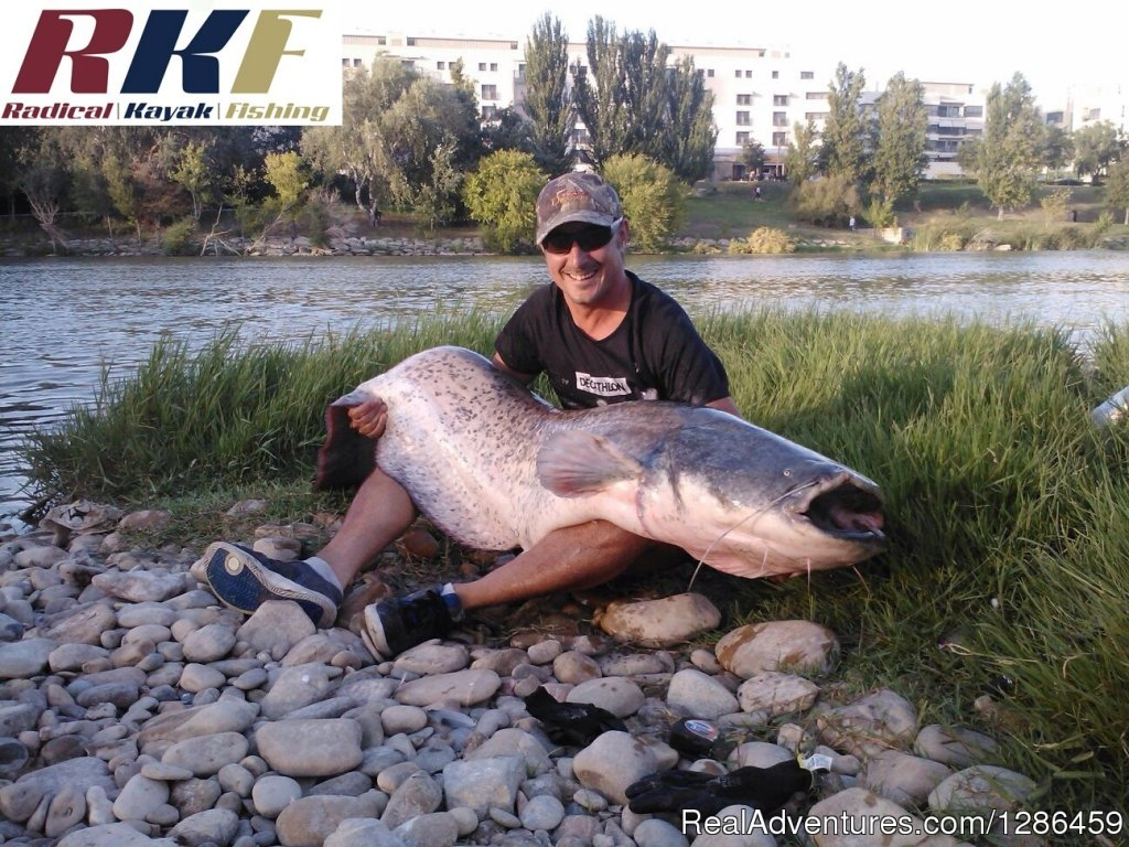 Cat Fishing From Kayak | Image #6/9 | fishing guides Ebro river Spain