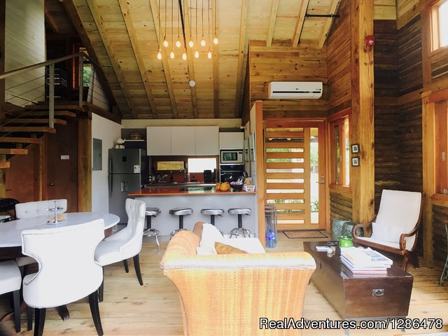 Living and Dinning room - Gorgeous House For Rent Altos del Maria Casa