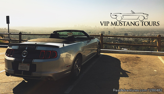 VIP Mustang Tours Los Angeles, California Sight-Seeing Tours