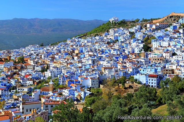Chefchaouen or the so called Blue City in Morocco - Atlas Desert Tours