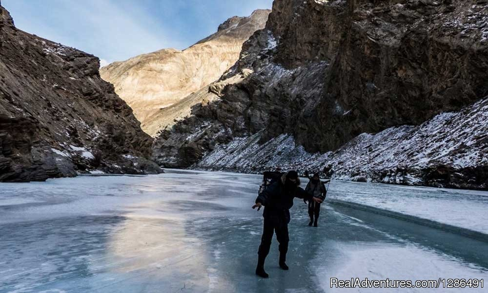 Chadar Trek Club is an organization, deals in Chadar trek. chadar trek is a very pleasant experience to walk upon a frozen water.Bookings are open for chadar trek and if you are an early bird then you can get discount price.
