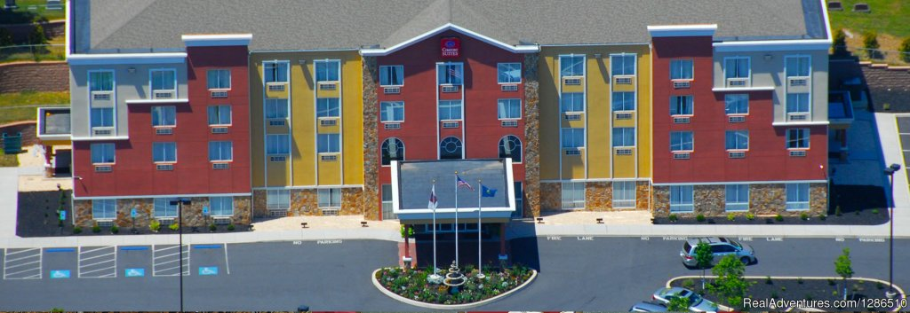 Gettysburg Comfort Suites At National Park Visitor Center and Cyclorama Center. Ranked Three Diamond s by AAA since our opening.