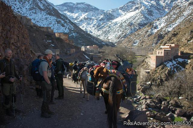 2 Days -atlas Trekking From Marrakech