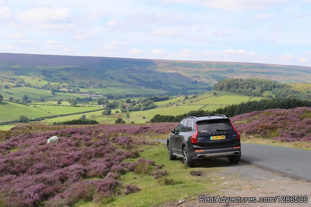Experience wonderful sights in a luxury 4x4 hybrid 4x4 Volvo - Driver Guided Tours of Yorkshire