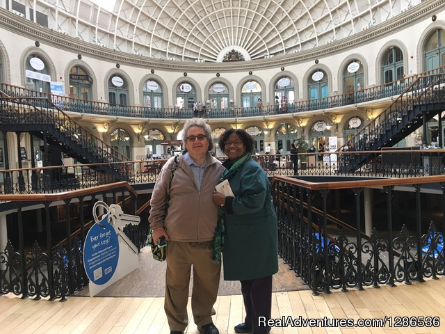 Leeds Corn Exchange - Driver Guided Tours of Yorkshire