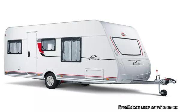 Burstner Premio 460 TS caravan