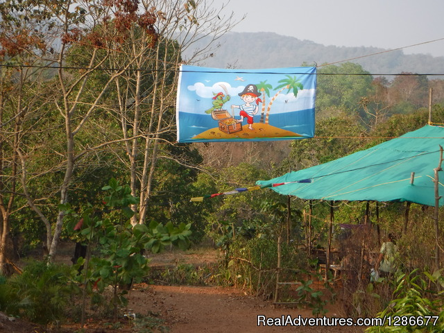 Credo Jungle Resort Agonda / bonefire & live music