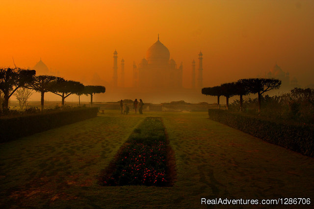 View From Mehtabh Bagh - Same Day Agra Tour