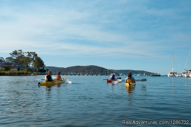Kayak tours in Sydney's gorgeous Pittwater Sydney, Australia Kayaking & Canoeing