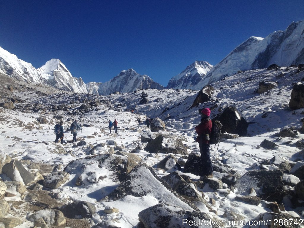 Everest base camp trek is a highly popular trek in Nepal. It lies in the Khumbu region (Mahalangur Himalayan range). Mt. Everest is the primary attraction of this trek, which is known as Sagarmatha. It is the roof of the world. Everest base camp.
