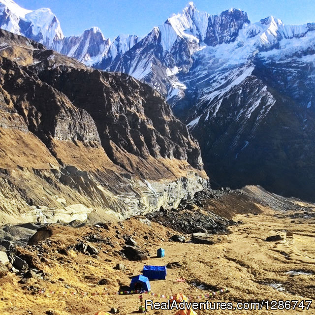 Annapurna base camp via Poon hill-13 days