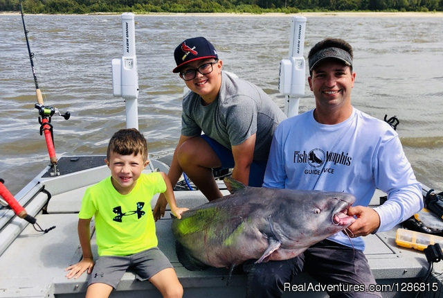 Fish Memphis for Trophy Catfish Memphis, Tennessee Fishing Trips