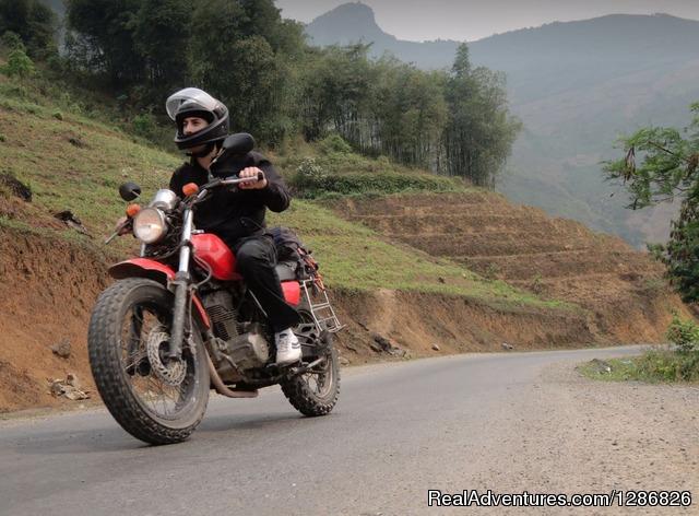 Motorcycling North Loop Vietnam