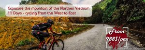 West to East Biking in North Vietnam Hanoi, Viet Nam Bike Tours