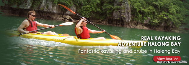 Kayaking in Halong & Lan Ha bay: Kayaking in Halong & Lan Ha bay
