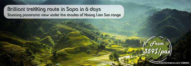 Trek Sapa - The Long Trail Hiking & Trekking Sapa, Viet Nam