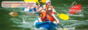 Overland Vietnam Adventure for Family Hanoi, Viet Nam Kayaking & Canoeing