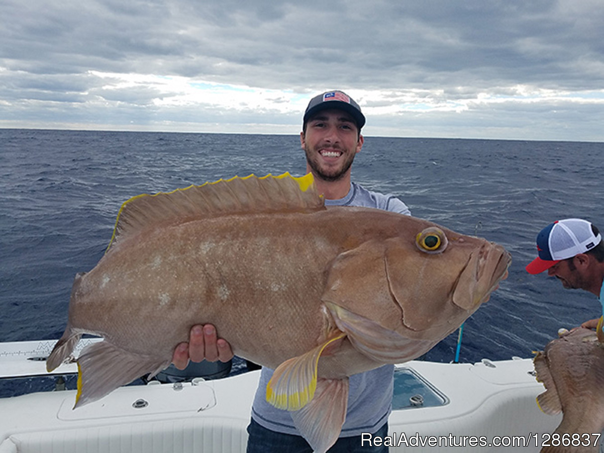 Snowy Grouper | Image #3/3 | Exciting Fishing Charters with Anglers Envy