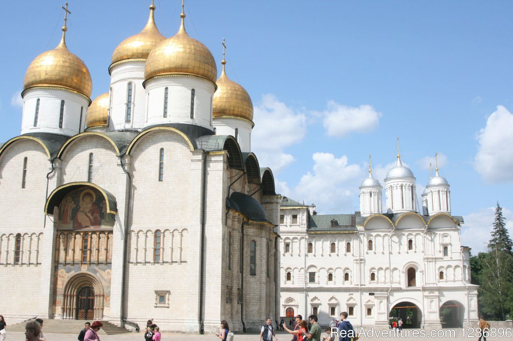 Moscow.Kremlin's Cathedral. | Image #4/26 | Transsiberian Railway Tour.
