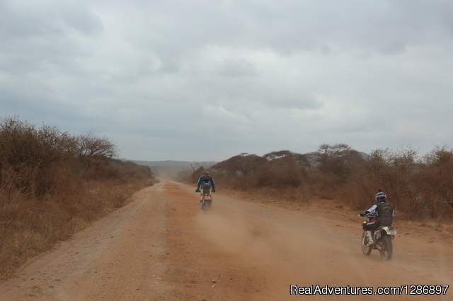 Motorcycle in Tanzania - 9 days: