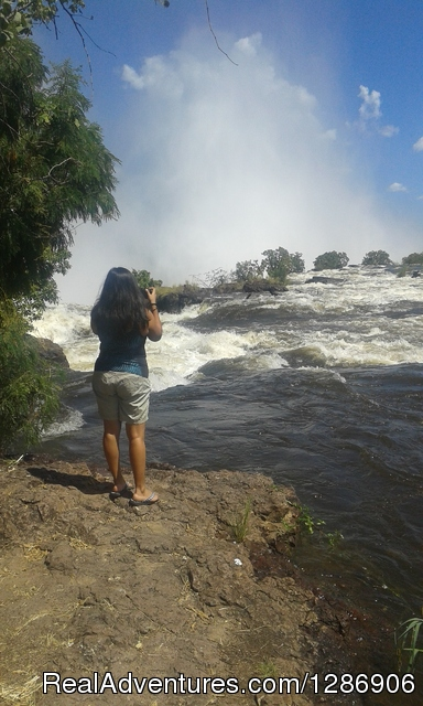 Guided Tour Of The Falls-Zambia